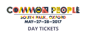 Common People 2017 Oxford Day Tickets