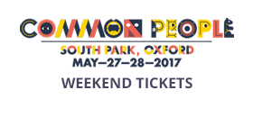 Common People 2017 Oxford Weekend Tickets