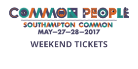 Common People 2017 Southampton Weekend Tickets