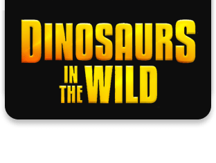 Dinosaurs in the Wild Tickets logo