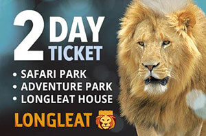 Longleat Safari and Adventure Park - 2 Day Ticket