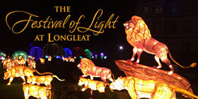 Longleat Festival of Light + All In One Day Ticket