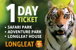 Longleat All In One Day Ticket