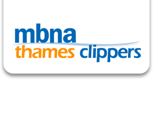 MBNA Thames Clippers Combination logo