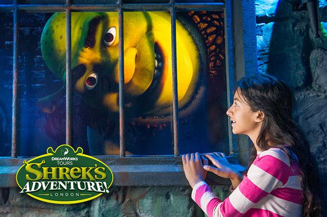 Merlin Magical London 3 Pass, Save 44% on Shreks Adventure