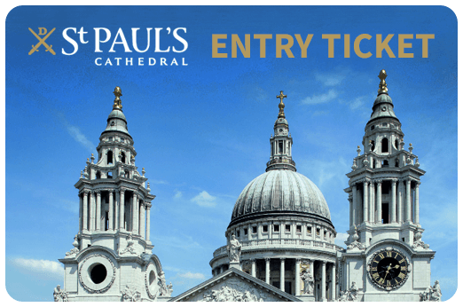 St Paul's Cathedral Ticket