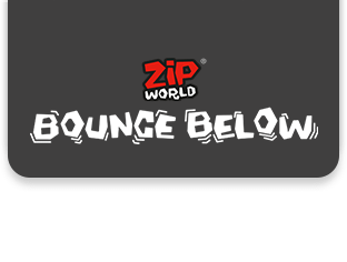 Zip World Bounce Below logo