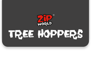 Zip World Tree Hoppers logo